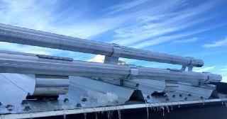 Монтаж снегозадержателей Москва цена от 839 руб.